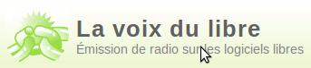 Logo de la Voix du libre