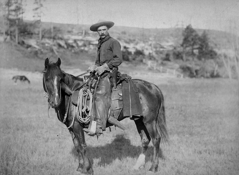 Cowboy en 1888