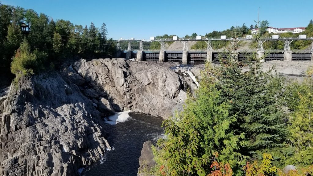 Barrage et chute du Grand Sault NB