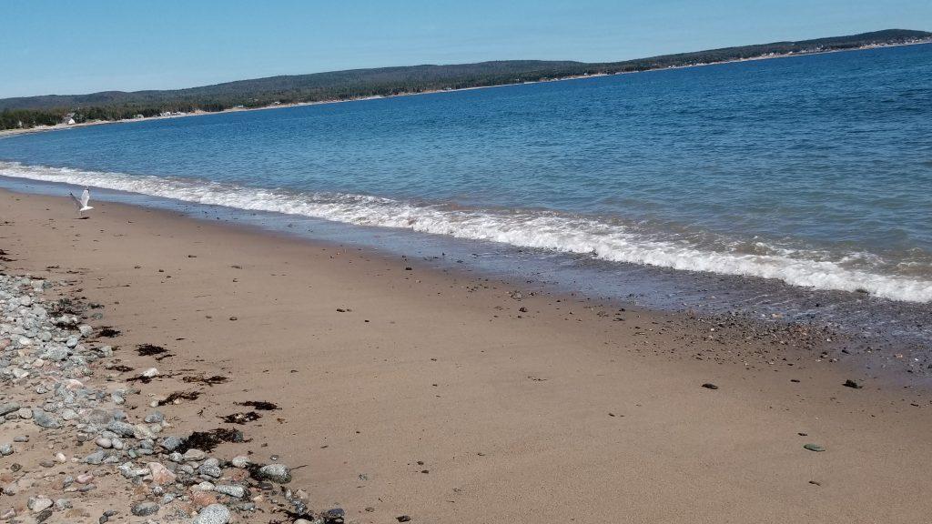 La plage d'Ingonish