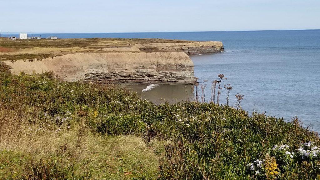 La mer vue de centre Marconi