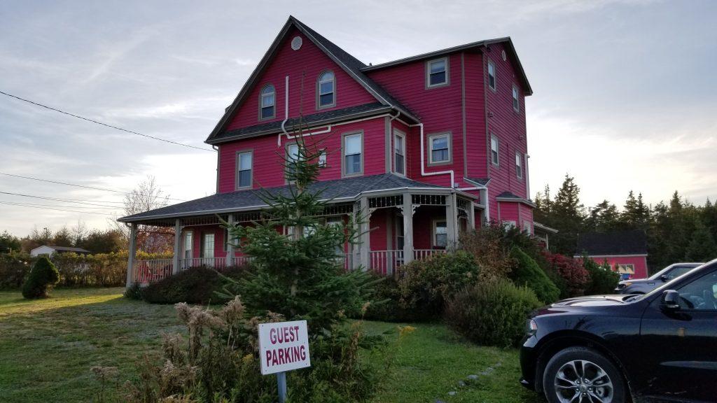 Le Cranberry, notre BB à Louisbourg