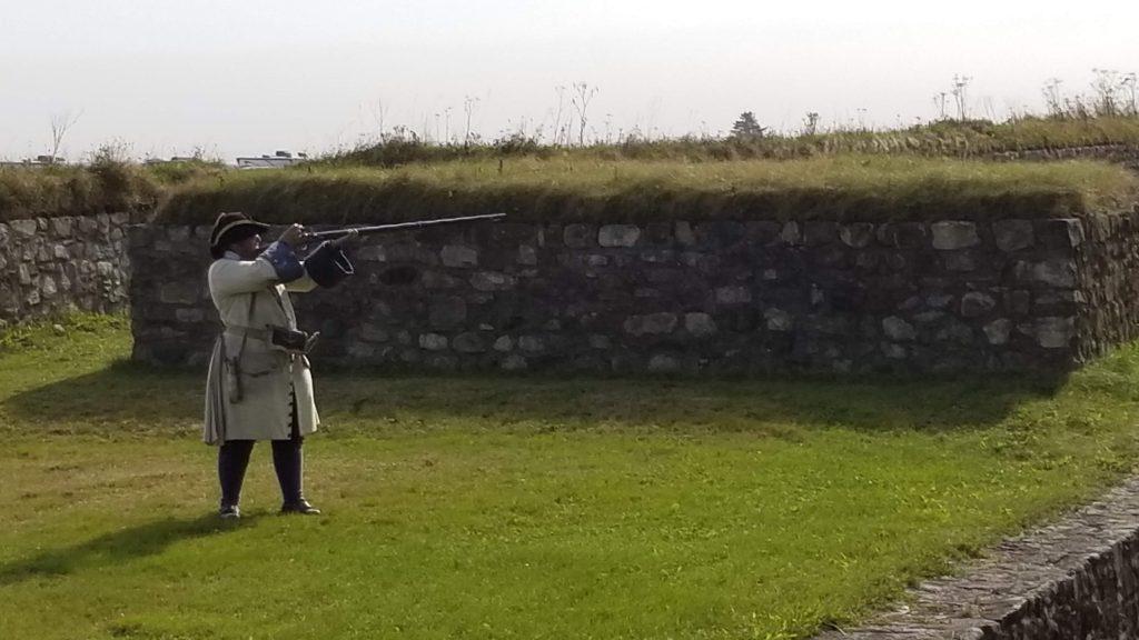 Le tir au mousquet