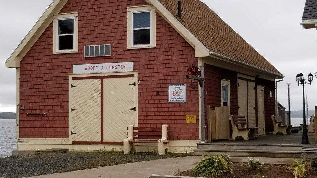 L'annexe du musée des pêcheries dédiée aux homards