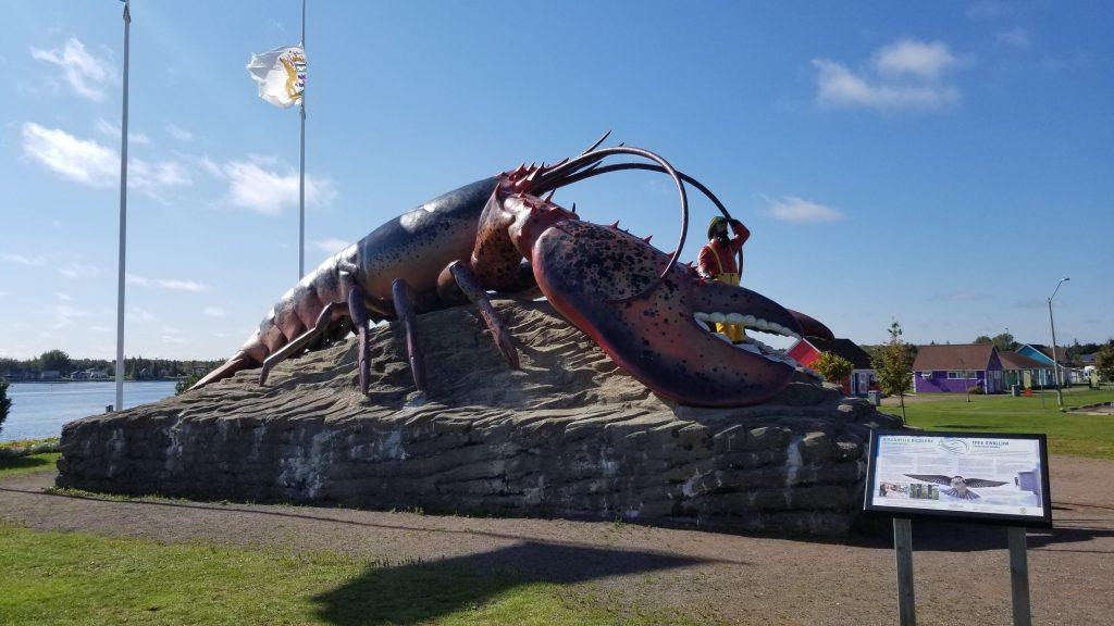 La plus grosse sculpture de homard au monde (Shédiac)